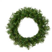 "16"" Canadian Pine Wreath 100 Tips"