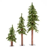 2' 3' 4' Natural Alpine Tree Set 633T