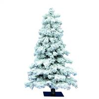 "5' x 31"" Flocked Spruce 478Tips"