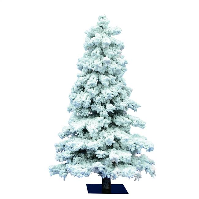 "6' x 33"" Flocked Spruce 722Tips"