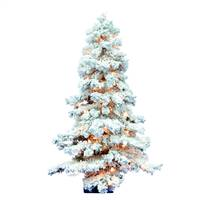 "7' x 47"" Flocked Spruce DuraL 400CL 886T"