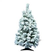 "36"" x 24"" Flocked Alaskan Tree 127 Tips"