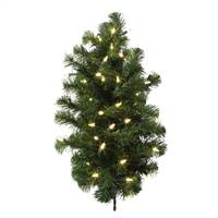 "2' x 17"" Douglas Wall Tree 50WmWh LED"