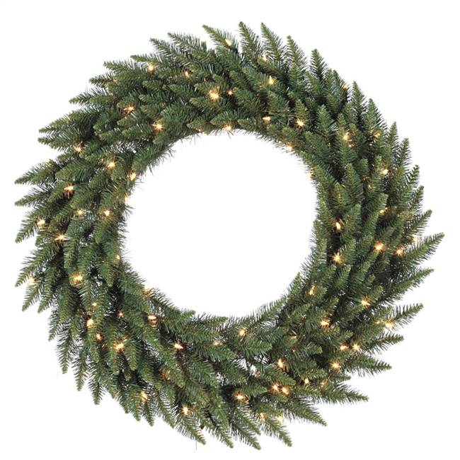 "48"" Camdon Fir Wreath Dura-Lit 200CL"