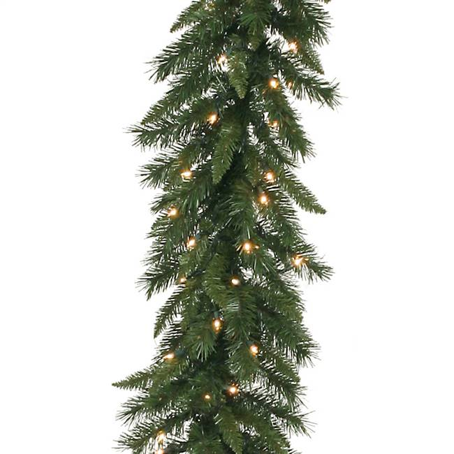 "50' x 12"" Imperial Pine Garland 300CL"