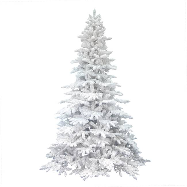 "10' x 72"" Flocked White Spruce 3030Tips"