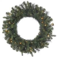 "24"" Classic Mixed Pine Wreath 35CL"