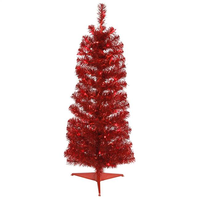 "3' x 14"" Red Pencil Tree Dural 50RD 109T"