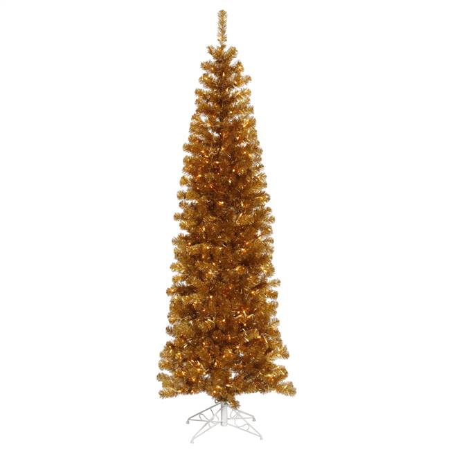 "5' x 36"" AntGold Tree Dural LED 200WmWht"