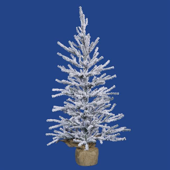 "36"" x 18"" Flocked Angel Pine 529T"