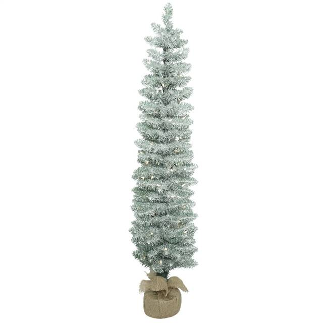 "4' x 11"" Frosted Pole Pine DL 70LED WmWt"