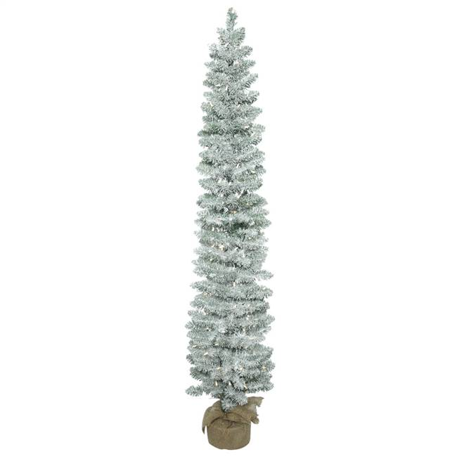 "5' x 11"" Frosted Pole Pine DL150LED WmWt"