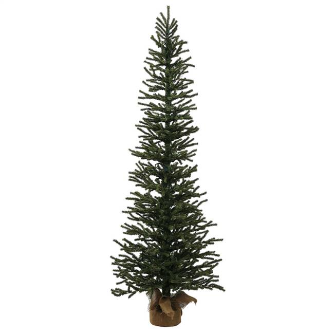 "4' x 16"" Mini Pine Tree 624T Burlap Base"