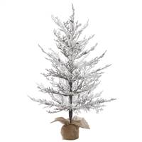"3' x 27"" Flocked Winter Twig 62T"