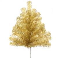 "24"" Antique Gold Pine Spray 34T"