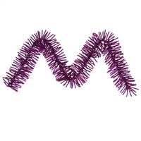 "9' x 10"" Purple Mini Garland 500T"