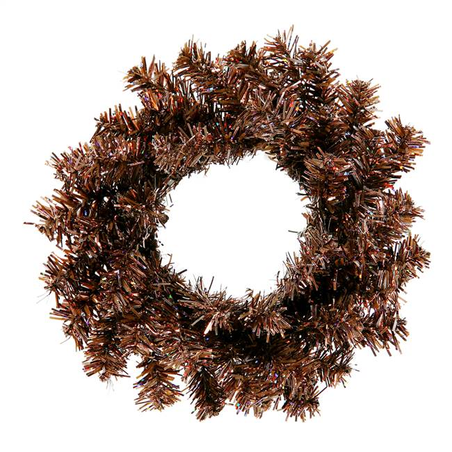 "6"" Mocha Mini Wreath 40T"
