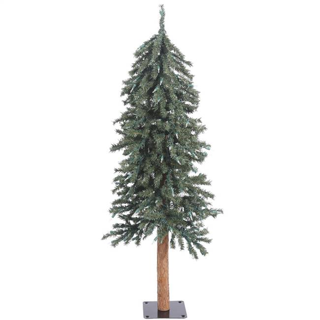 4' 5' 6' Natural Bark Alpine Tree Set