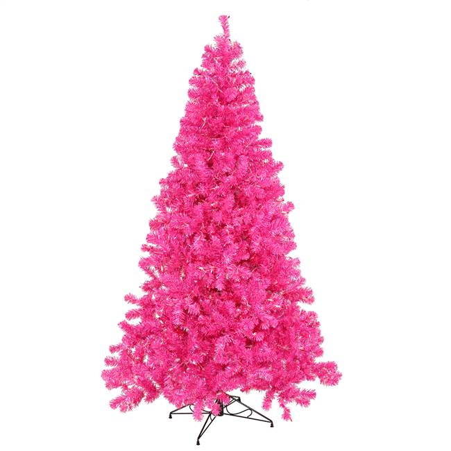 "4' x 31"" Hot Pink Tree Dural LED 150Pnk"