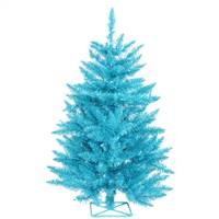"2' x 23"" Sky Blue Tree Dural 35Teal 115T"