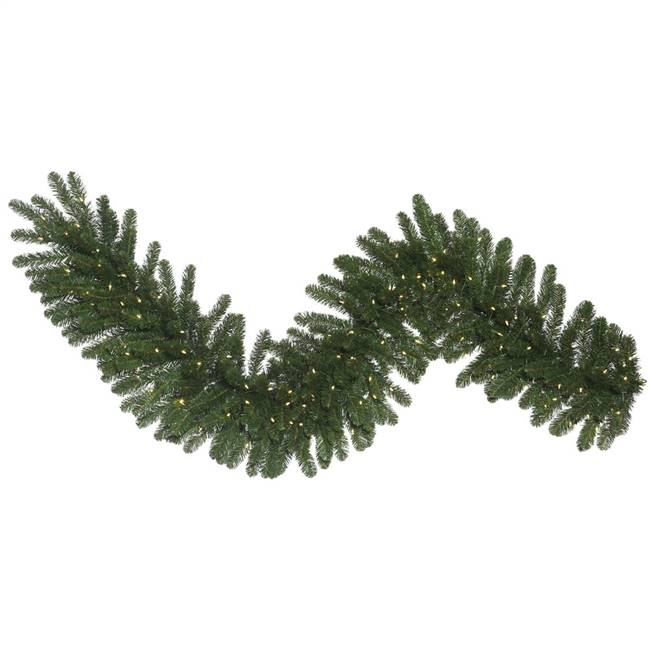 "50' x 12"" Oregon Fir Garl DL 420LED WmWh"