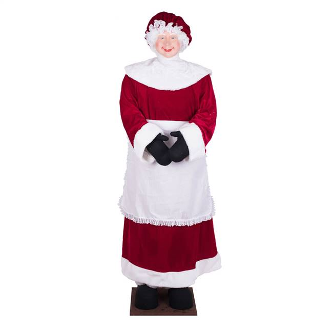 "5' 8"" Mrs Santa Standing or Sitting"