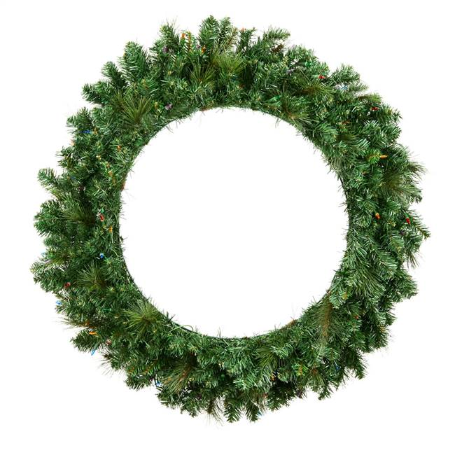 "36"" Mixed Brussels Pine Wreath 300T"