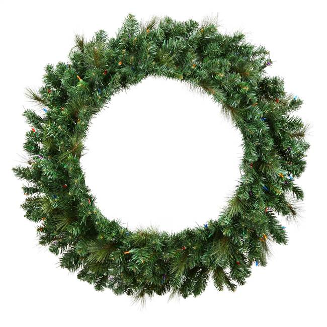 "42"" Mixed Brussels Pine Wreath 375T"