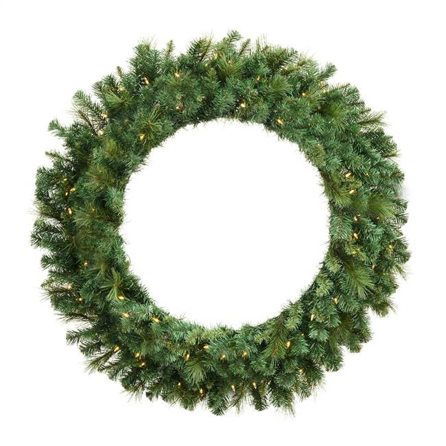"48"" Mixed Brussels Wreath Dura-Lit 200WW"