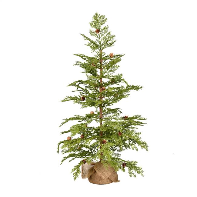 "36"" Cedar Pinecone Tree 63Tips"