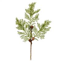 "30"" Cedar Pinecone Spray 3/Pk"