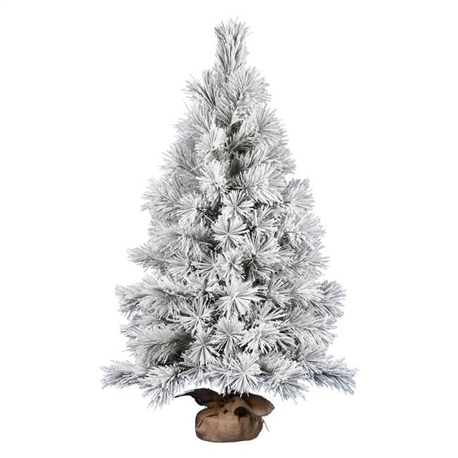"48"" Frosted Beckett Pine Tree 123Tips"