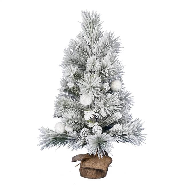 "36"" Frosted Beacon Pine Tree 82Tips"
