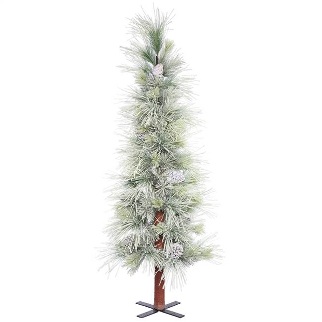 "5' x 31"" Frosted Norway Alpine Tree 131T"