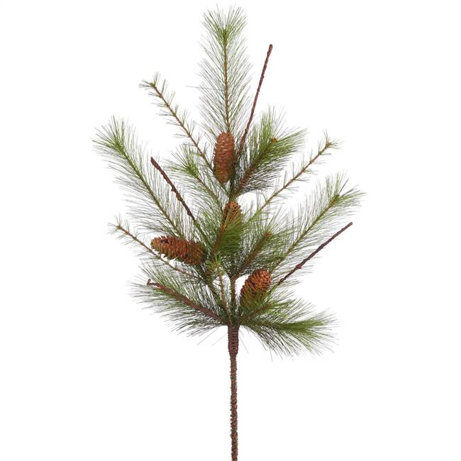 "30"" Mix Mountain Pine Spray w/Cones 14T"