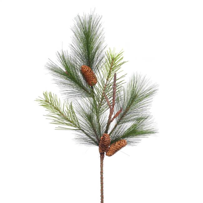 "29"" Bavarian Pine Spray w/Cones 7Tips"