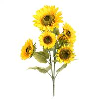 "25"" Yellow Sunflower Bush"