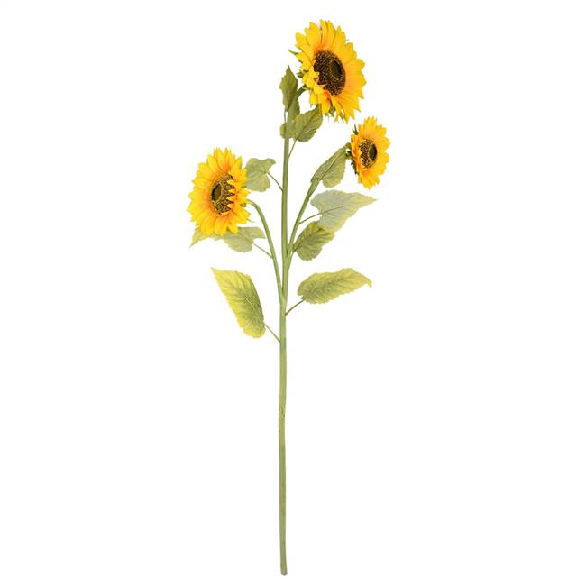 "53"" Yellow Sunflower Spray"