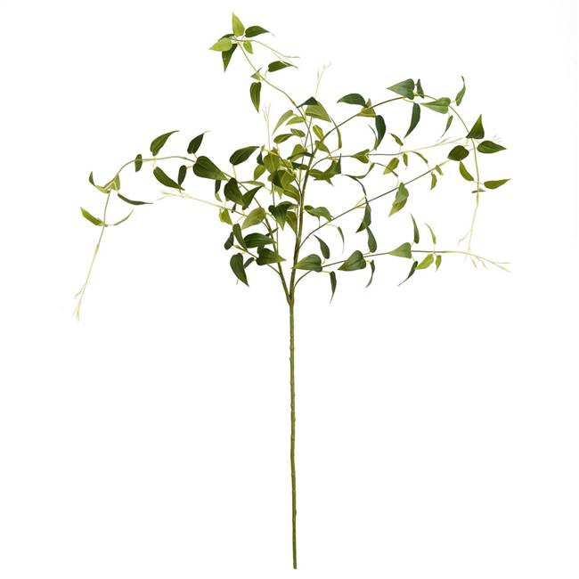 "43"" Green Clematis Leaves Spray 3/Pk"