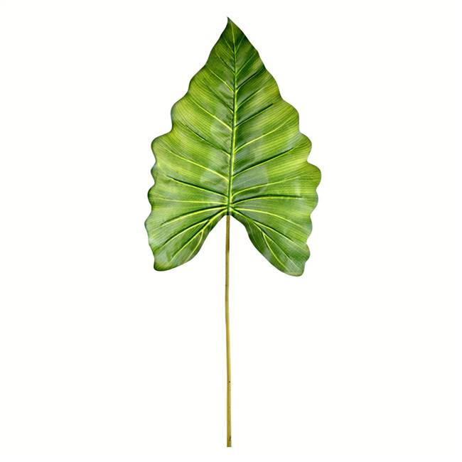 "43"" Green Calla Leaf Real Touch Pk/4"