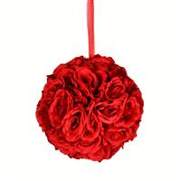 "8"" Red Rose Ball"