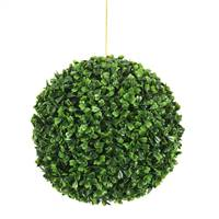"9""  Boxwood Ball"