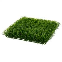 "11x11x2.5"" Green Grass Mat UV Coat 2/Pk"