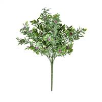 "13"" Purple Wild Flower Green Bush UV Pk2"