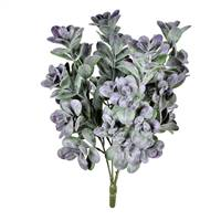 "17"" Gray/Purple Jade Bush UV"