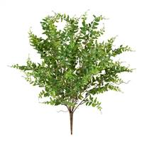 "20"" Green Royal Fern Bush UV"
