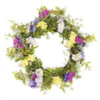 "26"" Mixed Greenery Floral Wreath"
