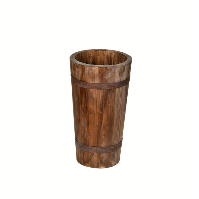 "16"" Wood Barrel"