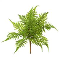 "17"" Green Fern Bush 3/Pk"