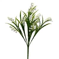 "16"" White Lily of the Valley Bush Pk/3"